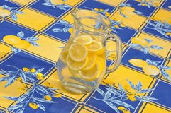 Pitcher Lemon Aid Royalty Free Stock Photos