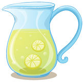 A pitcher of lemon juice Royalty Free Stock Images