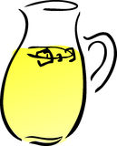Pitcher of lemonade Royalty Free Stock Photography