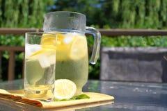 Pitcher of Lemonade Royalty Free Stock Photography