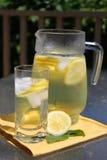 Pitcher of Lemonade Royalty Free Stock Photos