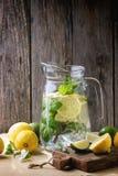 Pitcher of lemonade Royalty Free Stock Image