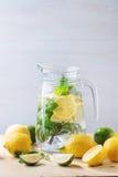 Pitcher of lemonade Royalty Free Stock Photo
