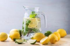 Pitcher of lemonade Stock Photography