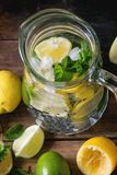 Pitcher of lemonade Royalty Free Stock Images
