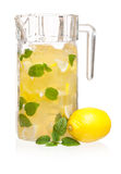 Pitcher of lemonade Stock Photos