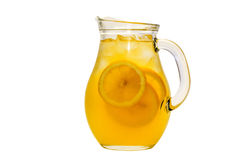 Pitcher of lemonade Stock Images