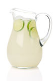 Pitcher Of Limeade Stock Photos