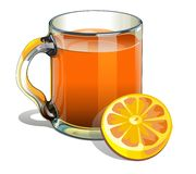 Pitcher of orange juice Stock Photo