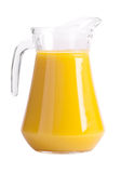 Pitcher of orange juice Stock Photo