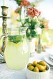 Pitcher refreshing refreshing drink Royalty Free Stock Photos