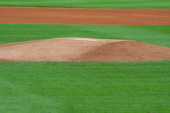 Pitcher's Mound Royalty Free Stock Image