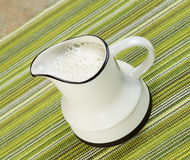 Pitcher of Soy Milk Stock Images