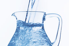 Pitcher of water Stock Image