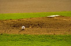 Pitchers Mound Royalty Free Stock Image