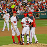 Pitching coach Steve McCatty, Washington Nationals Stock Photography