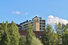Piteå Älvdals Hospital stock images