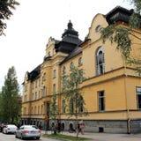 Piteå Stadshotell in Piteå royalty free stock photo