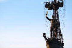 Piter большой памятник, Москва Стоковое Изображение