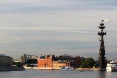 Piter большой памятник, Москва Стоковые Изображения