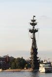 Piter большой памятник, Москва Стоковое Изображение RF