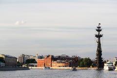 Piter большой памятник, Москва Стоковая Фотография