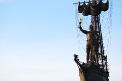 Piter большой памятник, Москва Стоковые Фото