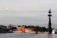 Piter большой памятник, Москва Стоковое Фото