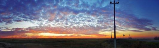 Piterenka-Sonnenuntergang Lizenzfreie Stockfotografie