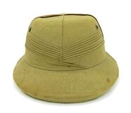 Pith καπέλο σαφάρι κρανών Στοκ Φωτογραφία