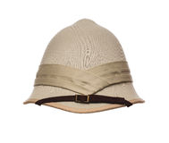 Pith hat isolated on white Stock Image