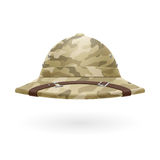 Pith helmet Stock Photo