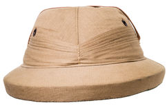 Pith Helmet Isolated Royalty Free Stock Photo