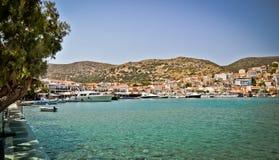 Pithagorio,萨莫斯岛,希腊港  图库摄影