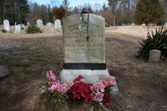 Pitié L Brown Gravesite Image libre de droits