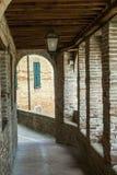 Piticchio (gränser, Italien) Arkivfoto