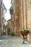Piticchio (marzo, Italia) Fotografie Stock