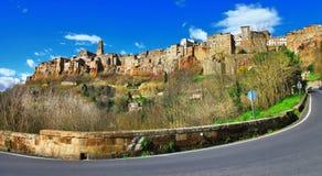 Pitigiano Tuscany, Italien royaltyfria bilder