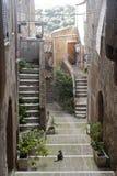 pitigliano Тоскана Италии стоковые фотографии rf