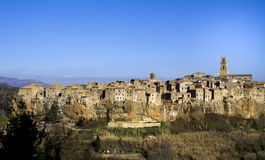 Pitigliano Royalty Free Stock Photography