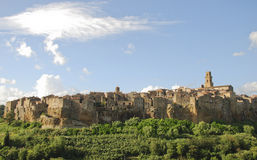 Pitigliano Royalty Free Stock Photos
