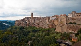 Pitigliano Stock Photo
