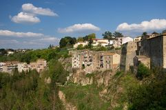 Pitigliano Royalty Free Stock Images