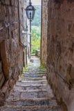 Pitigliano en Toscane en Italie images libres de droits