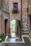 Pitigliano en Toscane en Italie photographie stock