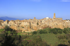 Pitigliano, hilltop town Royalty Free Stock Photo