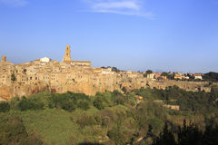 Pitigliano, hilltop town Royalty Free Stock Photography