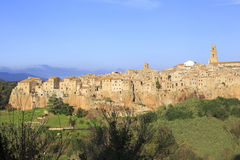 Pitigliano, hilltop town Stock Images