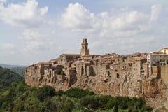 Pitigliano Italien Arkivfoton