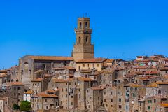 Free Pitigliano Medieval Town In Tuscany Italy Royalty Free Stock Photography - 161335587